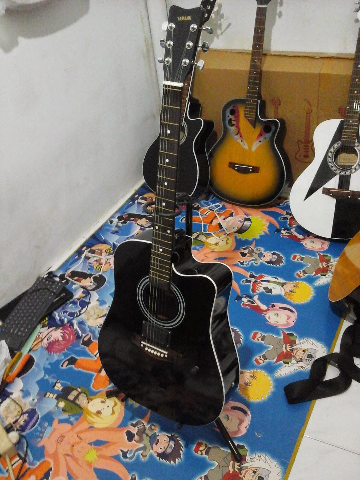 Gitar Akustik Yamaha Black Spul  Berkualitas Terbaik Rp