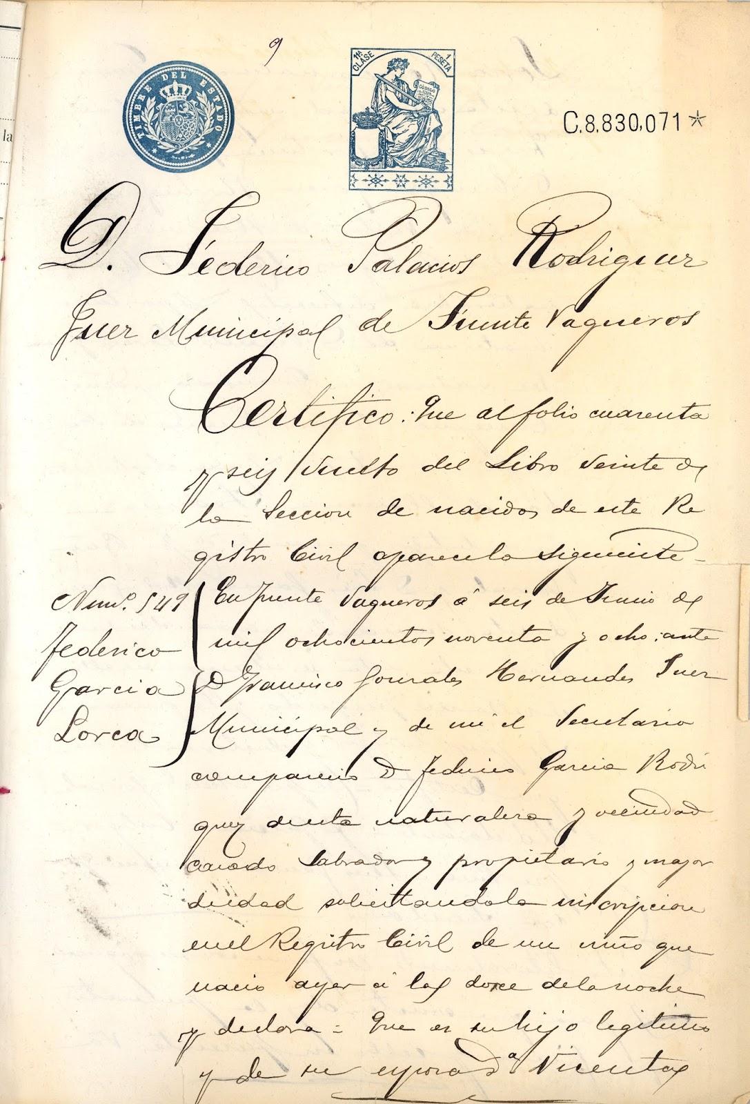 Contemporáneo Plantilla De Certificado De Nacimiento De California ...