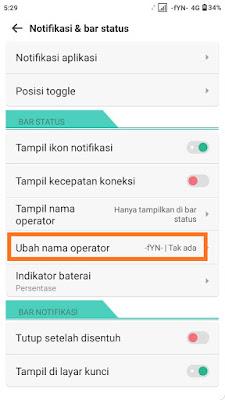 Cara Membuat Tulisan di Status Bar Hp Xiaomi