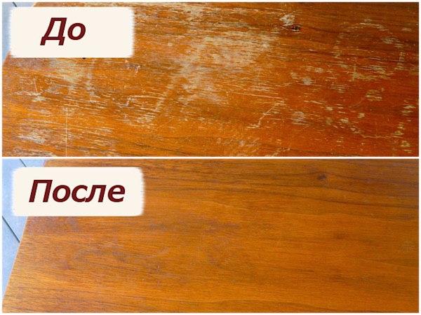 Картинки по запросу Как быстро и просто избавиться от царапин на деревянной мебели