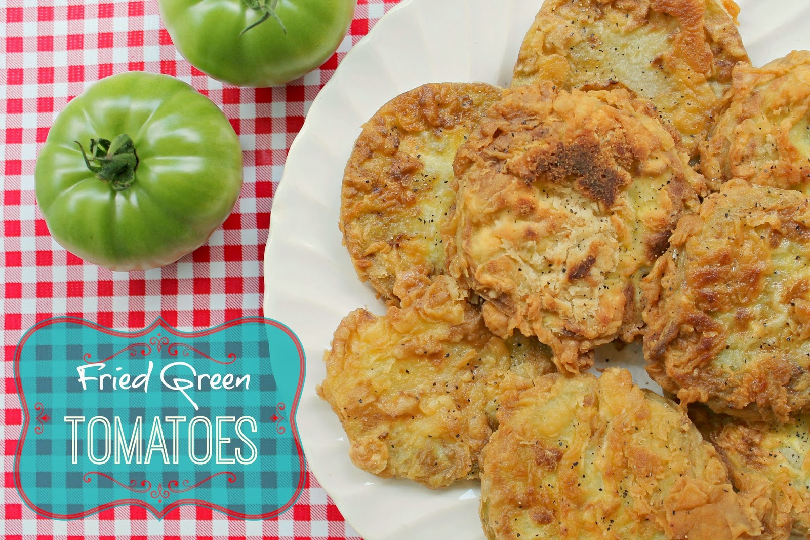 the little farm diary: A Fried Green Tomato Kind Of Day