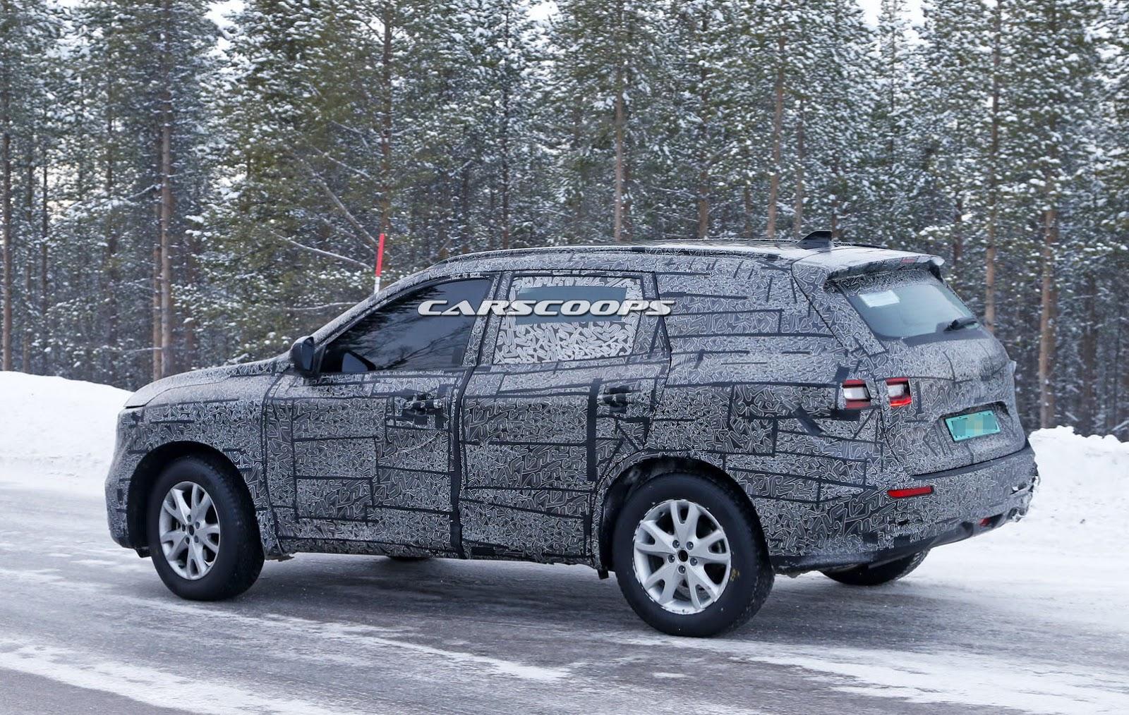 New Renault Maxthon Koleos Large Suv Leaked