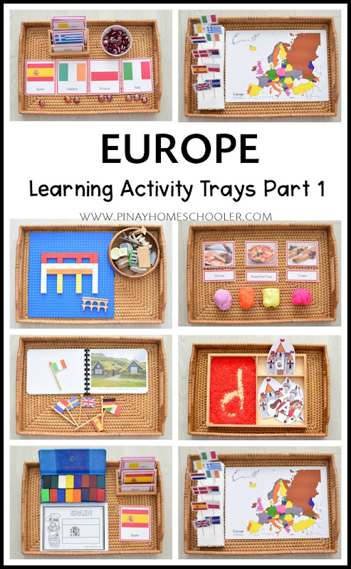 Montessori Inspired Europe Continent Study for Kids