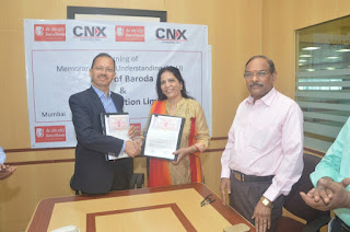 Bank of Baroda MOU with CNX Corporation Ltd