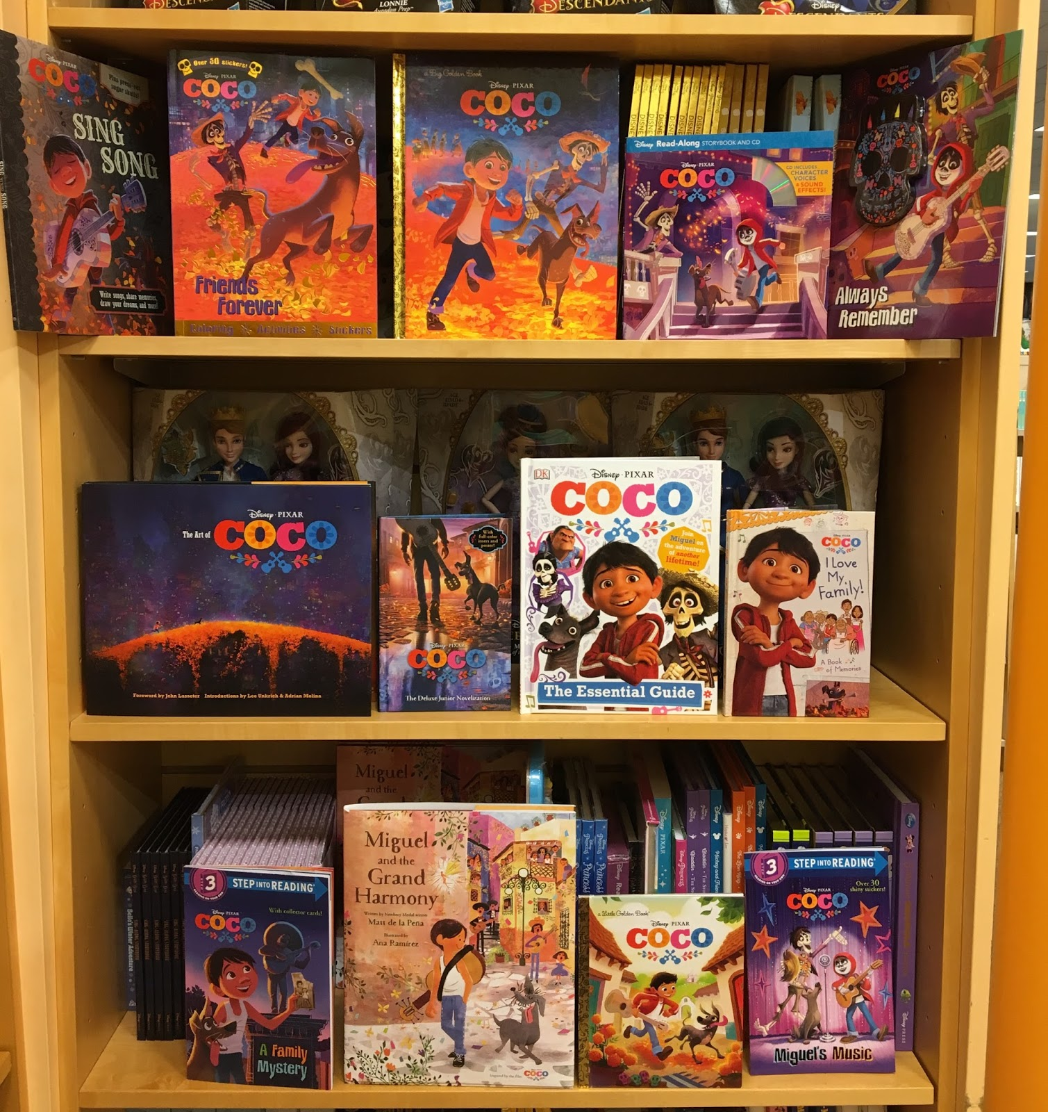 disney pixar coco books