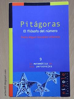 jarban02_pic036: Pitágoras. El filósofo del número de Pedro Miguel González Urbaneja