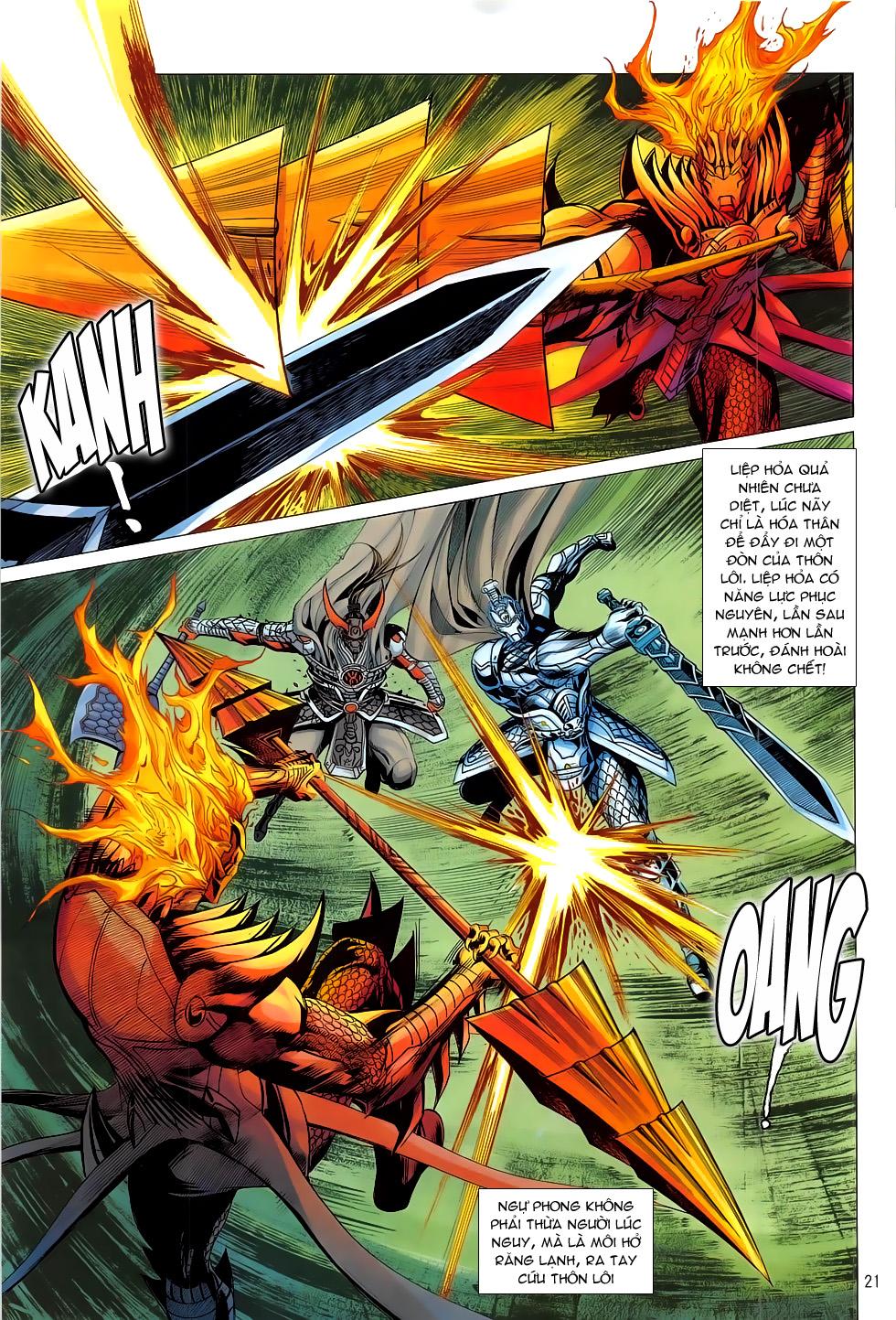 Chiến Phổ chap 19 - Trang 21