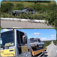 Acidente é registrado na PB-177 entre Seridó e Cubati