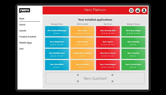 Nero Platinum 2020 Full imagenes