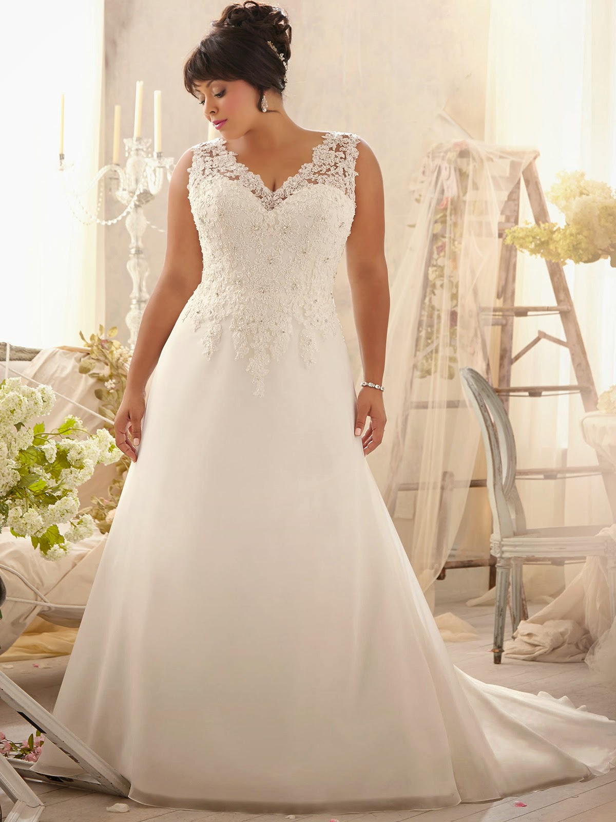 Wedding Dresses Pictures For Plus Sizes In Jax
