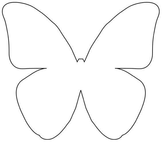 Tranh tô màu con bướm cho bé hai tuổi