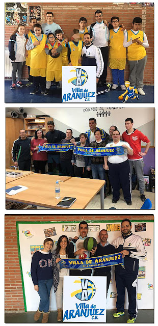 Baloncesto Discapacitados Aranjuez