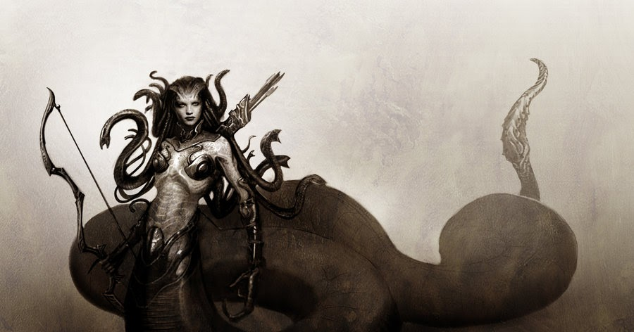 Medusa Makhluk Mitologi Yunani Idsejarah Net