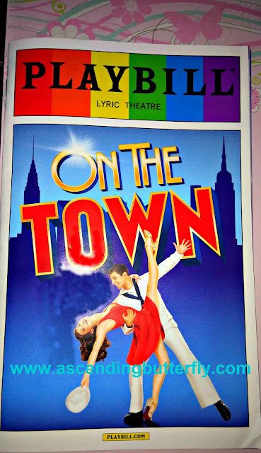 On The Town Playbill, Broadway Musical, Playbill