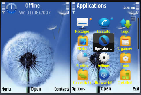 Samsung Galaxy Mobile Themes Free Download