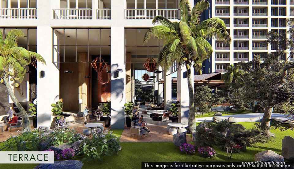Terrance Lounge Branz Puri Botanical