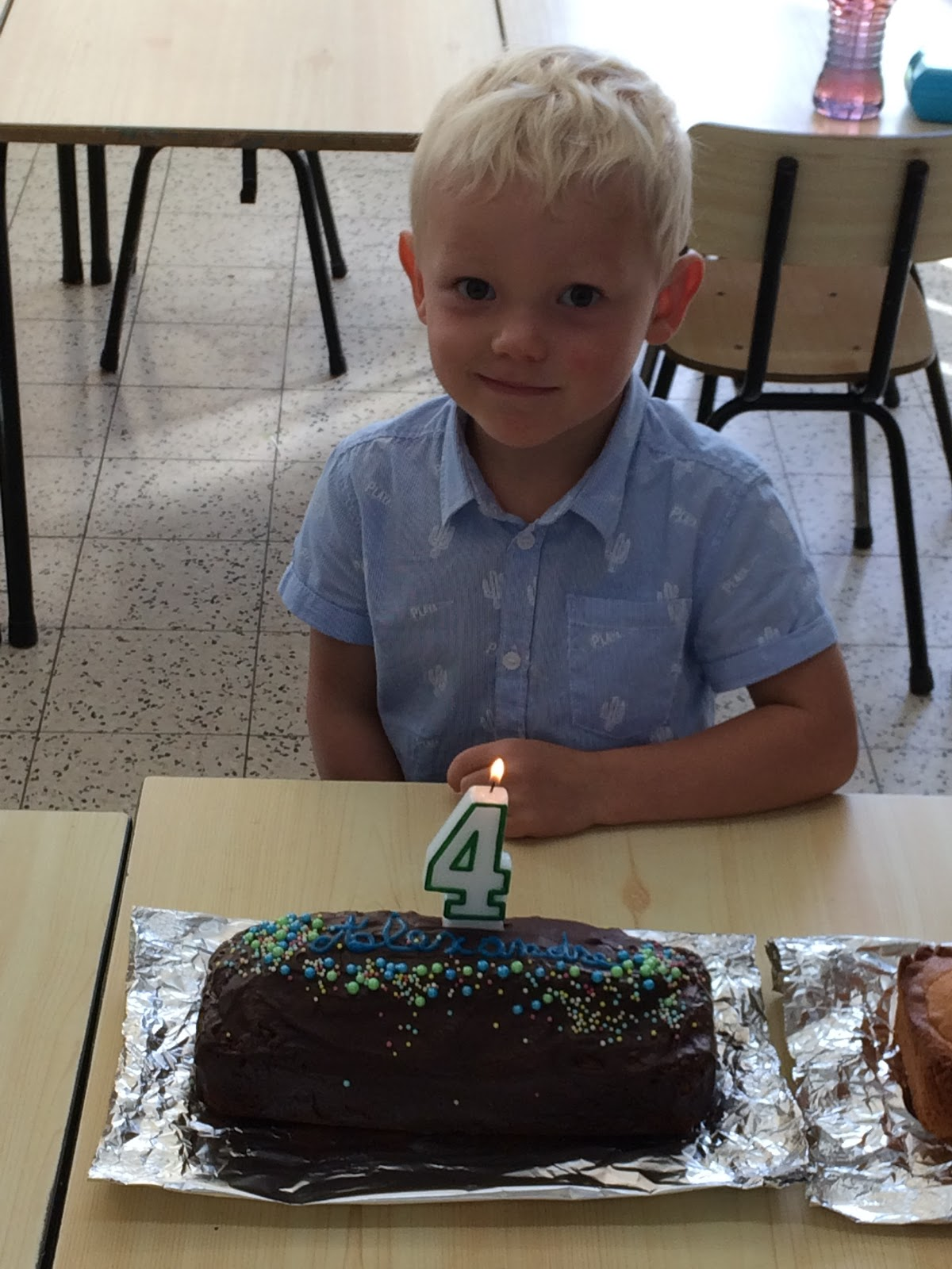 Joyeux Anniversaire Alexandre Dans Notre Petite Ecole