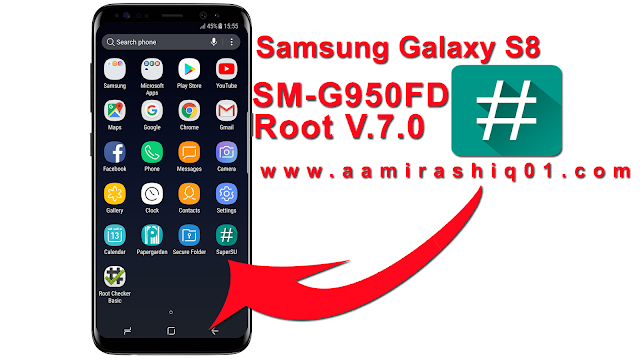 Samsung Galaxy S8 Duos SM-G950FD Root File - GSM Solution