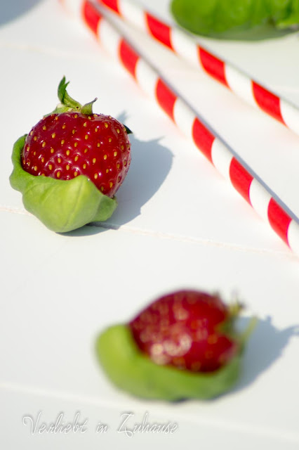 Rezept: Erdbeer Basilikum Smoothie