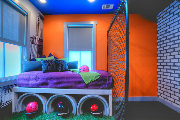 Ada beberapa jenis desain ruang yang sanggup diimplementasikan di  Desain Kamar Tidur Unik untuk Anak