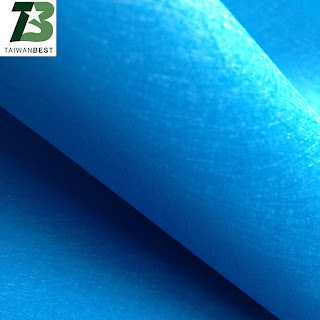 TPU film for shoes, bags logo with pure blue 2