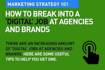 how to get a digital job at agencies and brands