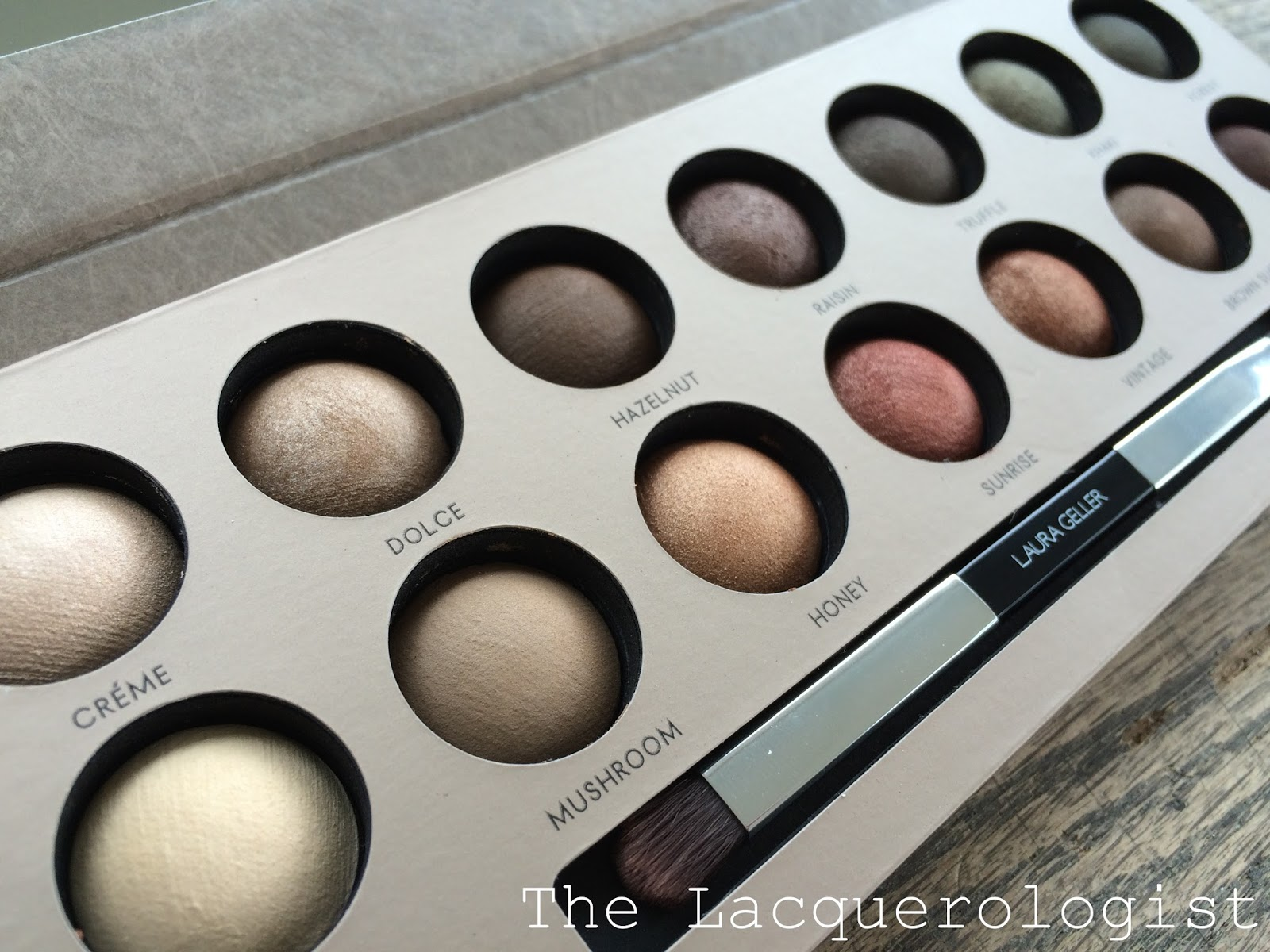 Laura Geller The Delectables Eye Shadow Palettes Casual Contrast