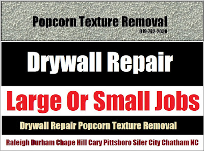 Durham NC Popcorn Texture Removal Contractor | Free Estimates