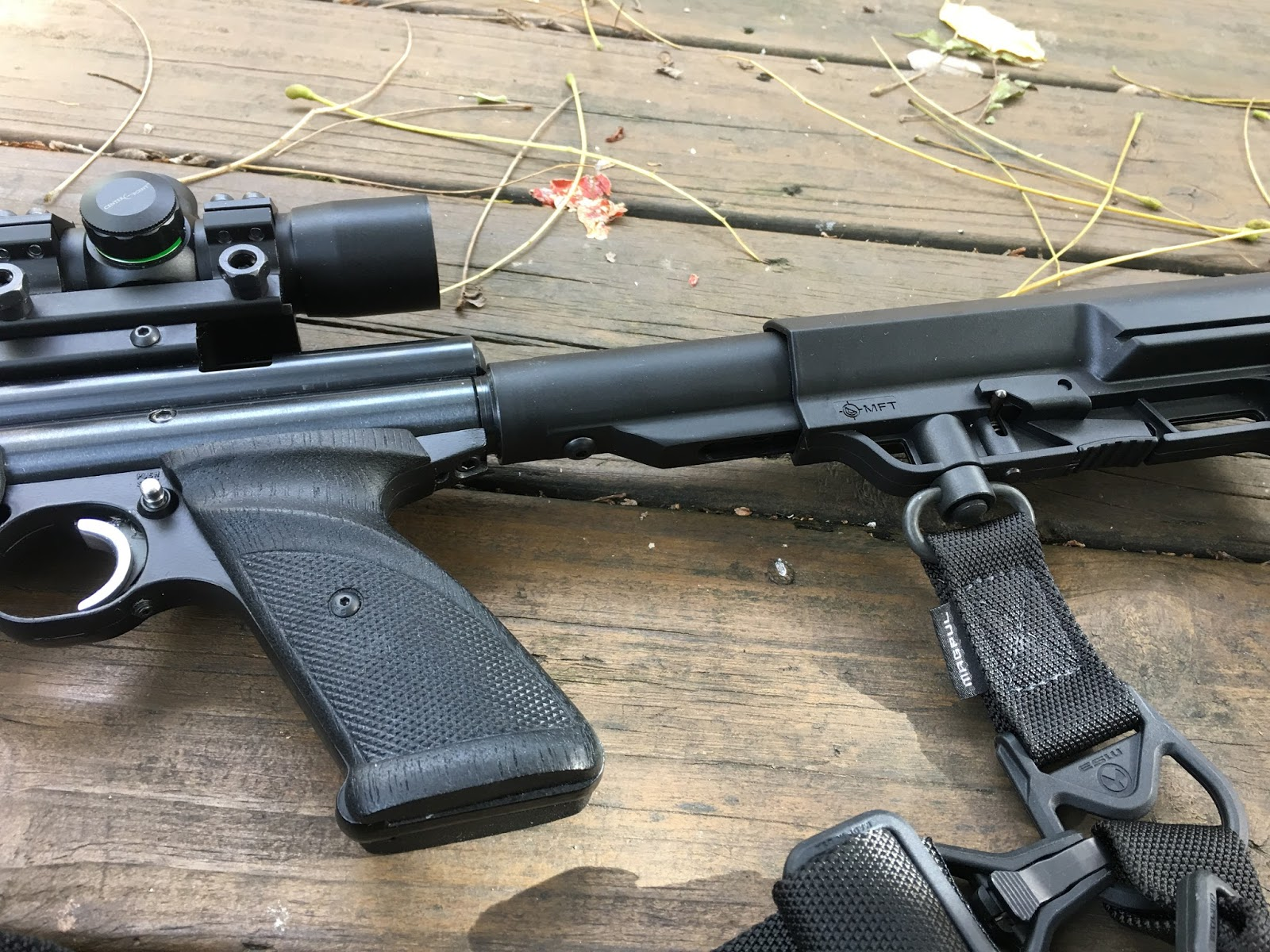 Another Airgun Blog: AR-15 Stock Adapter for a Crosman 22XX -- Part 1