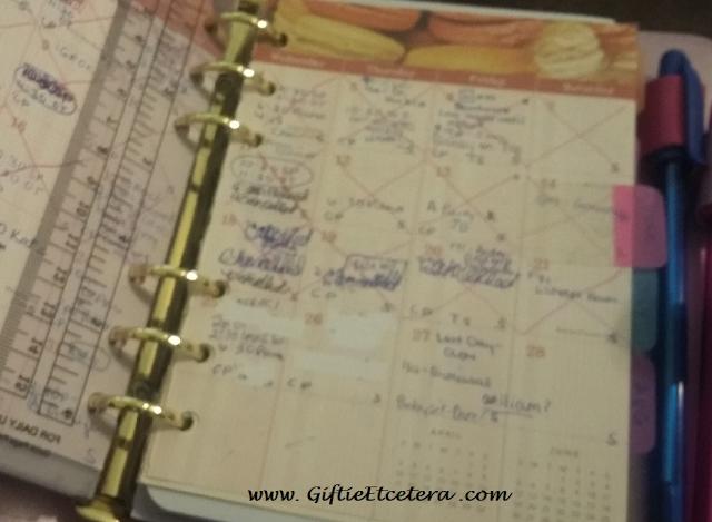 monthlies, planner, calendar