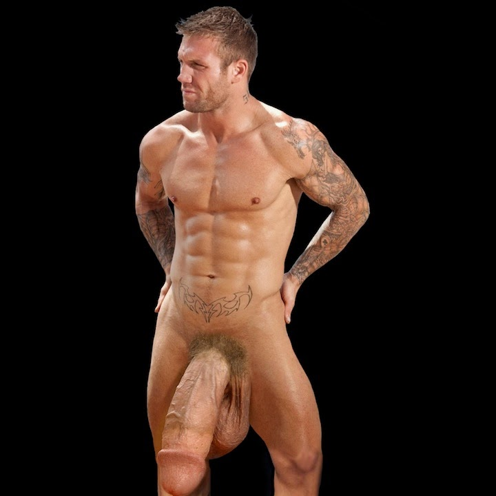 Porn stud Bo Dean's big dick has grown recently, now it's gigantic, down to  his knees and not fully hard. What's his secret? He makes sure his dick is  being ...