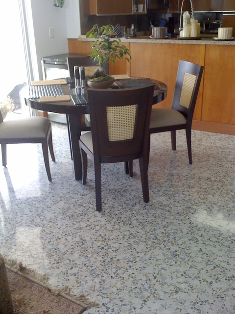 Terrazzo Floor Polishing Procedure For Terrazzo Floor Polishing
