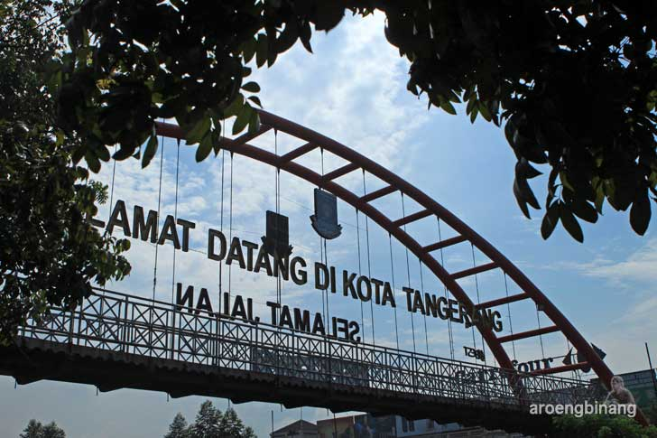 jembatan pelengkung tangerang
