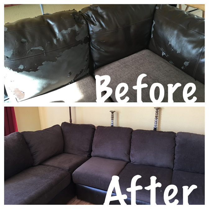How To Reupholster Attached Couch Cushions: