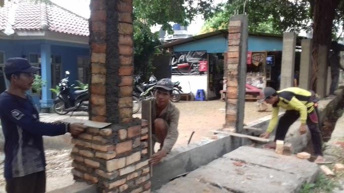 Gedung PWI Kota Depok Direnovasi