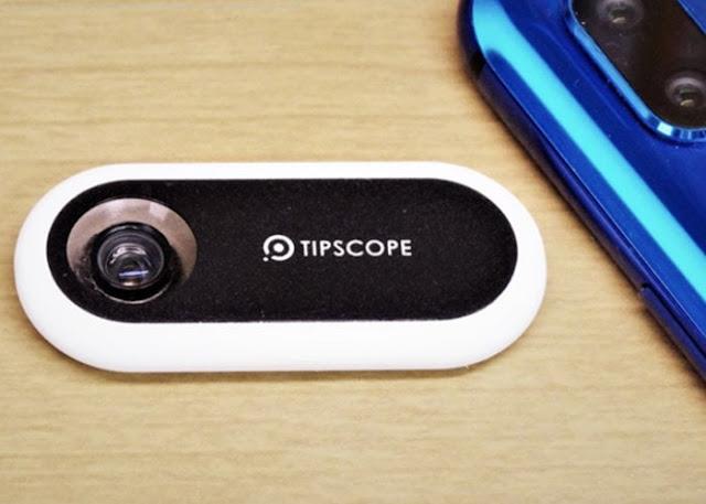 Tipscope smartphone microscope