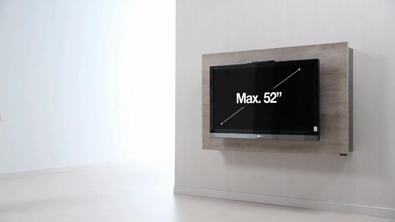 Dise o de muebles para tv giratorio de melamina web del - Muebles de television de diseno ...