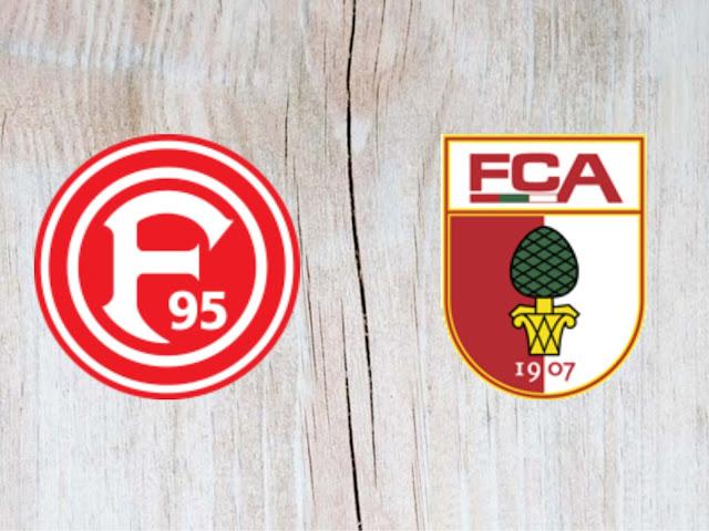 Fortuna Düsseldorf vs Augsburg - Highlights - 25 August 2018