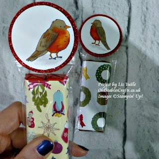 color me happy robin christmas gift stampin up