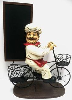 Chef Statue For Kitchen Ideas