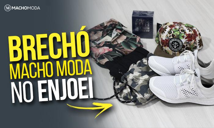 Macho Moda - Blog de Moda Masculina  BRECHÓ MACHO MODA agora está no ... 72546c2b4ea4d