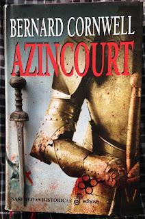 Portada del libro Azincourt, de Bernard Cornwell