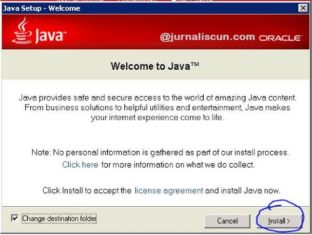 Instal Java Sampai Selesai