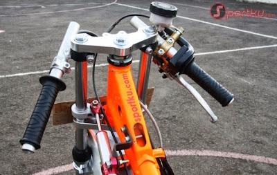 Cara membuat motor drag, foto motor drag