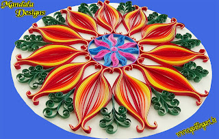 Quilled Mandala Designs