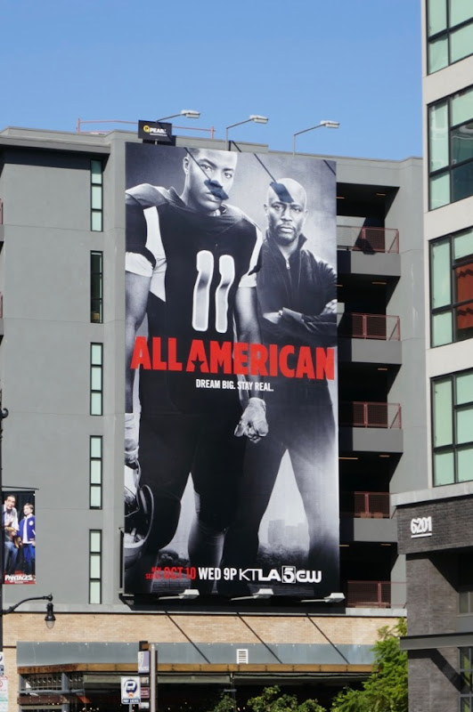 All American TV series billboard