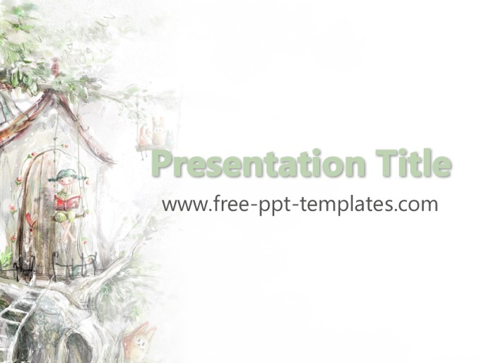 Fairy tale ppt template pronofoot35fo Choice Image