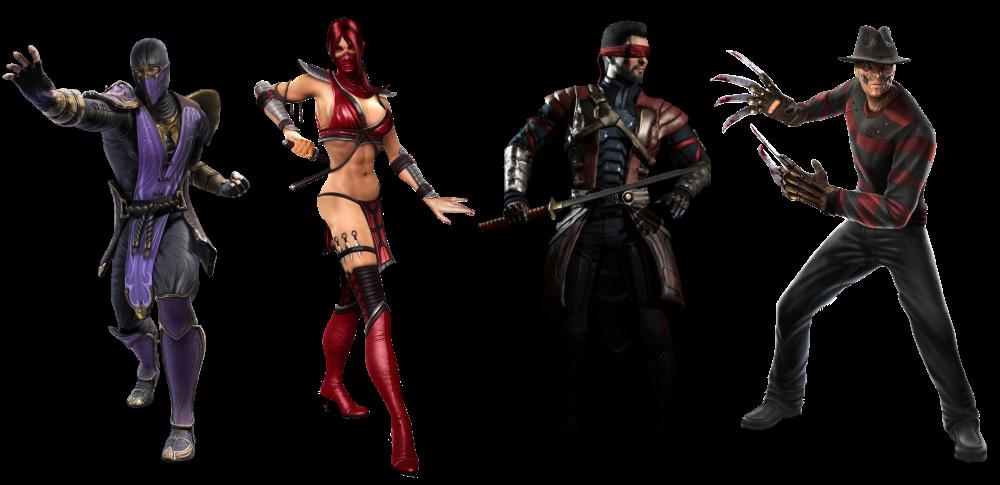 Mortal Kombat Komplete Edition Rain, Skarlet, Kenshi and Freddy Krueger Photo