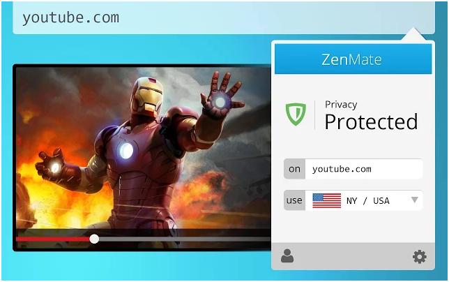 Google Chrome外掛:ZenMate for Google Chrome瀏覽器翻牆工具,可連線香港免費VPN伺服器