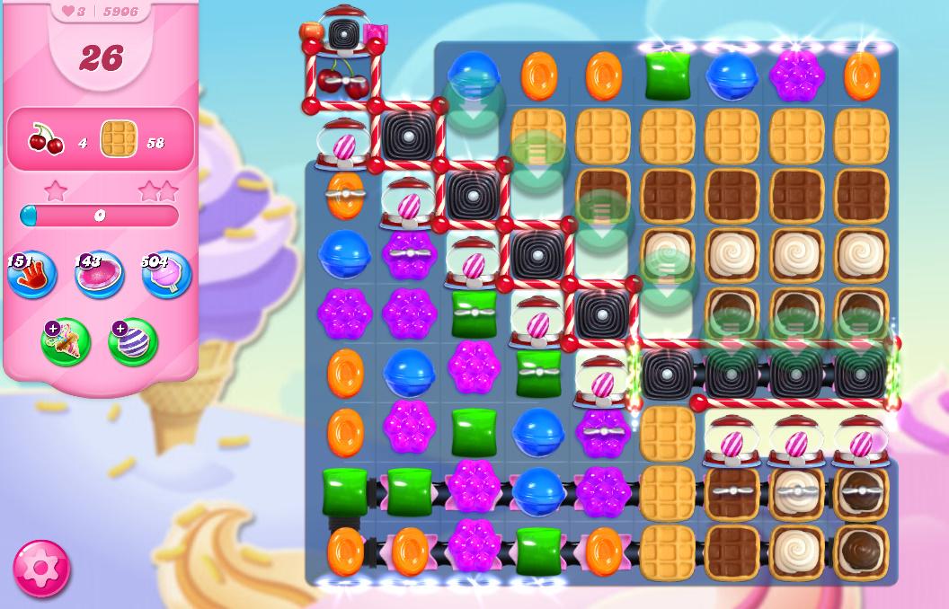 Candy Crush Saga level 5906